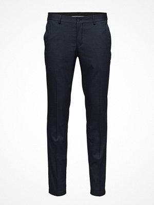 Byxor - Selected Homme Shdskinny-Mathsaul Dk. Blue Trouser Noos