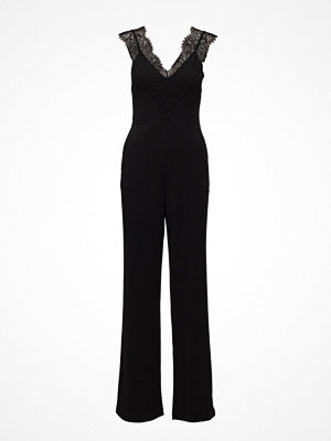 French Connection Dominica Lace V-Neck Jumpsuit