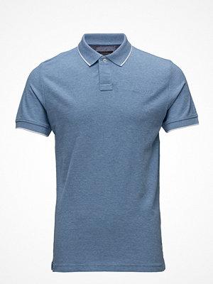 Pikétröjor - Lindbergh MéLange Polo Piqué Shirt S/S