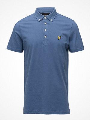 Pikétröjor - Lyle & Scott Woven Collar Polo Shirt
