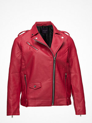 Violeta by Mango Faux Leather Jacket