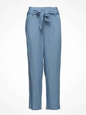 Custommade blå byxor Madelin Rayon