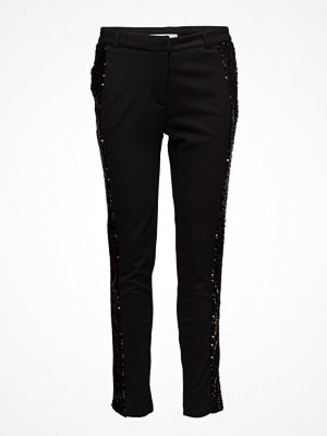2nd One svarta byxor Carine 810 Black Sequin, Pants