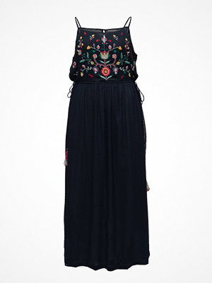 Violeta by Mango Embroidered Long Dress