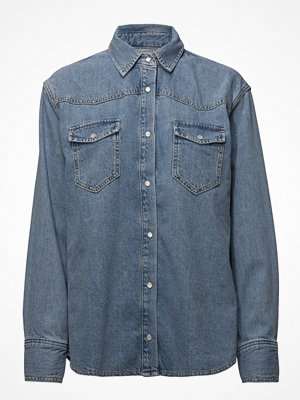 Mango Medium Denim Overshirt