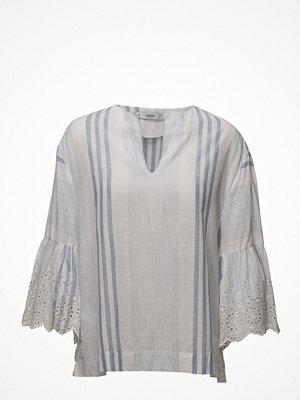 Mango Embroidered Sleeve Blouse