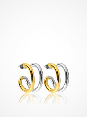 SOPHIE By SOPHIE smycke Two Tone Hoops S