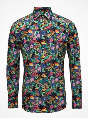 Eton Vibrant Floral Print Shirt