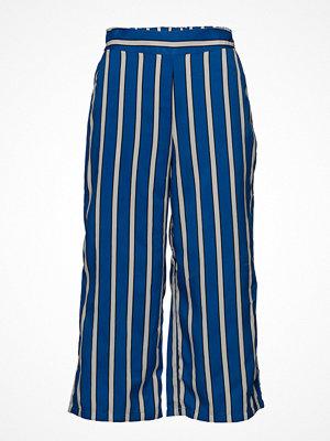 Mango randiga byxor Printed Crop Trousers
