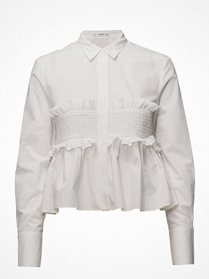 Mango Ruched Detail Shirt