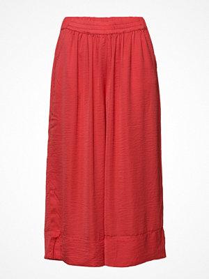 Second Female röda byxor Minga Cropped Trousers