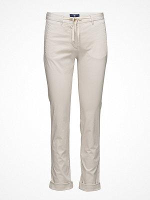 Gant ljusgrå byxor Draw String Pants