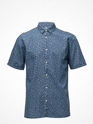 Selected Homme Shhtwonolan-Print Shirt Ss Aop
