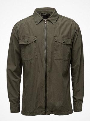 Selected Homme Shxtwomason Shirt Ls Zip