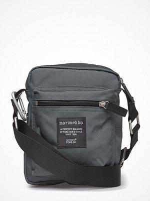 Marimekko grå axelväska Cash & Carry