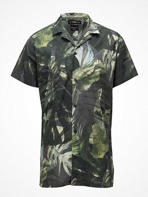 Selected Homme Shxtwocorey-Cuban Shirt Ss Aop