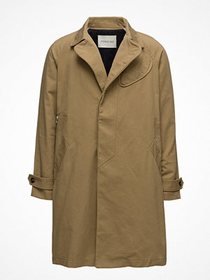 Trenchcoats - Tonsure Trenchcoat With Patch Detail