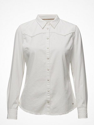 Wrangler Fringes Shirt Ivory