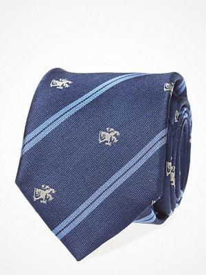 Slipsar - Tommy Hilfiger Tailored Silk Crest Stripe 7c