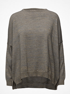 Rabens Saloner Gold Block Oversized Sweater