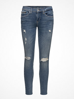 Calvin Klein Jeans Mid Rise Skinny Ankle Raw- Thermal