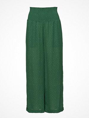 Just Female gröna mönstrade byxor Renata Trousers