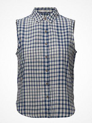 Mango Check Cotton Shirt