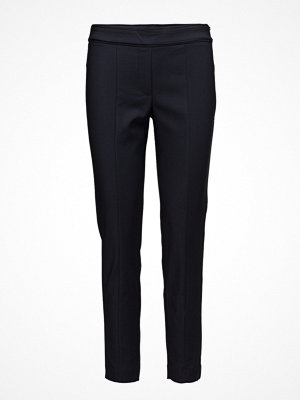 Mango svarta byxor Zip-Pocket Slim-Fit Trousers