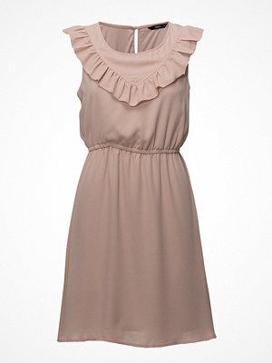 Only Onlcaroline S/L Frill Dress Wvn