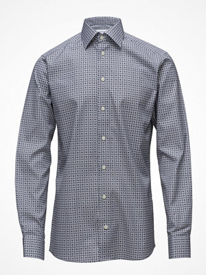 Eton Blue Medallion Print Shirt