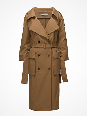 Trenchcoats - ÁERON Wide Neck Trench Coat