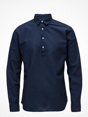 Selected Homme Shdtwosummer-Linen Shirt Ls Tunica