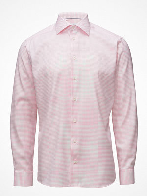 Eton Pink Hounds Tooth Shirt