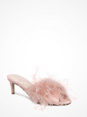 Sandaler & sandaletter - Bianco Fake Fur Slip In Amj18