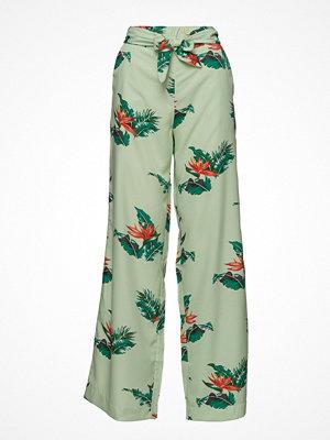 Mango byxor med tryck Bow Printed Trouser