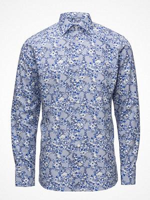 Eton Blue Floral Print Shirt
