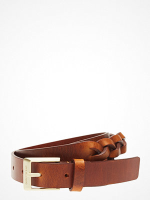Calvin Klein J Leather Braided Belt 2.5cm