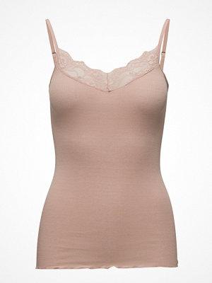 Rosemunde Silk Strap Top Regular W/Lace
