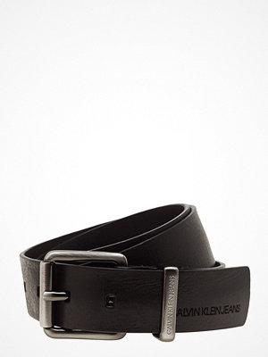 Calvin Klein J Metal Loop Leather Belt 3.5cm
