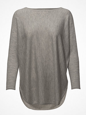 Davida Cashmere Curved Sweater Long - Baby Cashmere 16gg