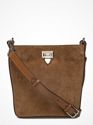 Decadent omönstrad axelväska Small Bucket Bag W/Buckle