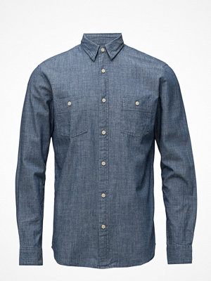 Selected Homme Shnonestuart Shirt Ls Solid