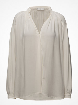 Mango Ruched Detail Blouse