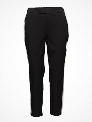 Mango svarta byxor Side-Detail Trousers