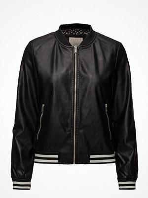 Esprit Casual svart bomberjacka Jackets Outdoor Woven