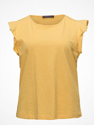 Violeta by Mango Ruffled Sleeve T-Shirt