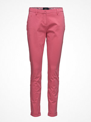 Morris Lady rosa byxor Adelie Chino Pants