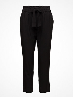 Mango svarta byxor Chalk-Stripe Trousers