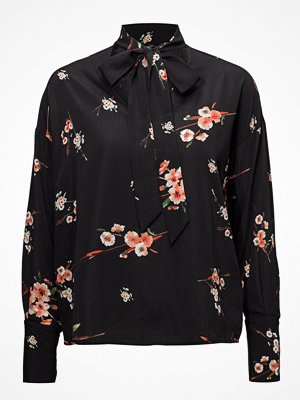 Only Onljapaan Ls Bow Blouse Wvn