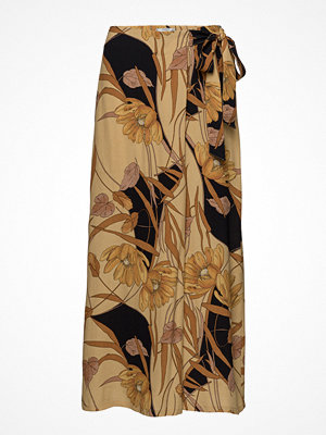 Mango mönstrade byxor Floral Palazzo Trousers